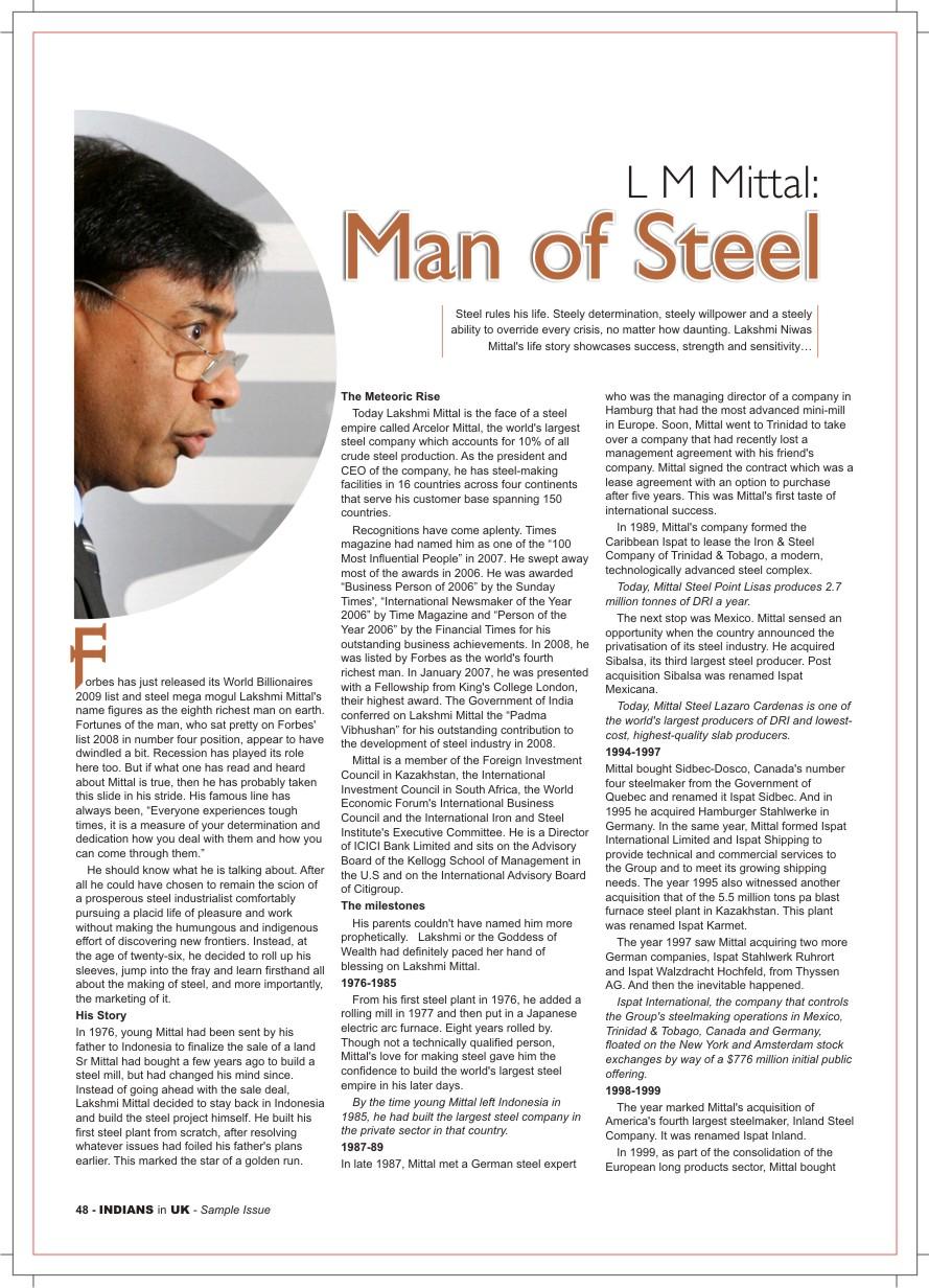 magazine article topics